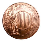 Token - PSUC (National Reconstruction of Catalonia) – obverse