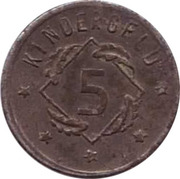 5 Pfennig - Kindergeld – reverse
