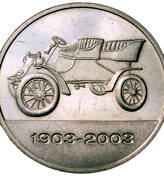 Token - Ford Motor Company 100 Years – obverse