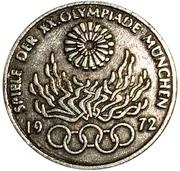10 Mark (Olympic Games in Munich; Replica) – reverse