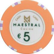 5 Euro - Maestral Casino (Przno) – reverse