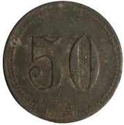 50 Pfennig - 26th Magdeburg Infantry Regiment – reverse