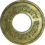 5 Cents - All Quality Confections (Chicago, Illinois) – obverse