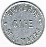 Token - Vigneron - Café de la Marne (Hagondange) – obverse