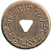 10 Pfennig (Bochum, Gelsenkirchen) [Private, Westfalen, Bochum-Gelsenkirchener Straßenbahnen AG] – obverse