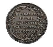 Token - Inauguration of Leopold II Brabant and Flanders – reverse