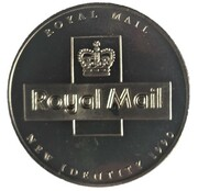 Token - Royal Mail 150th Year New Identity – reverse