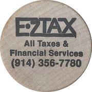 Wooden Nickel - EZ Tax – obverse