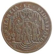 Token - Transfer of the Austrian Netherlands to Maximilian Emmanuel of Bavaria – obverse