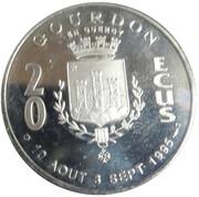 20 Ecus - Gourdon en Quercy – obverse