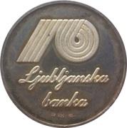 Token - Ljubljanska Banka – reverse
