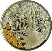 Token - Mint of Finland (2007 Proof coin set; Rauduskoivu) – obverse