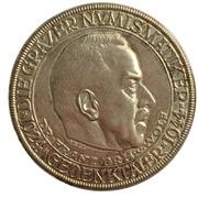 Gedenktaler - Franz Freiherr von Wolf (20th Anniversary of the Grazer Numismatic Society) – obverse