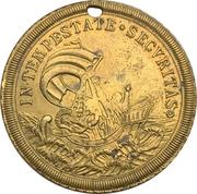 Token - S. Georgius Equitum Patronus / Intempestate Securitas (Kremnitz) – reverse