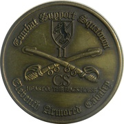 Token - Combat Support Squadron - 11th Armored Cavalry – obverse