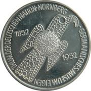 5 Deutsche Mark (Germanic Museum; Replica) – reverse