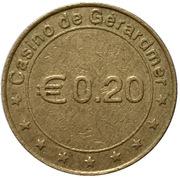 20 Euro Cent - Casino de Gerardmer – obverse