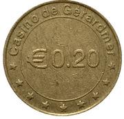 20 Euro Cent - Casino de Gerardmer – reverse