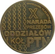 Token - 10th Polish Numismatic Society PTN Conference – obverse