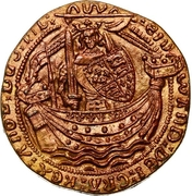 Token - Collection BP - Le Trésor des pirates (№2 - Angleterre Noble 1365) – obverse