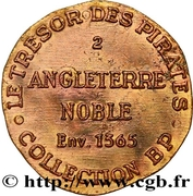 Token - Collection BP - Le Trésor des pirates (№2 - Angleterre Noble 1365) – reverse