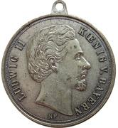 Medal - Ludwig II Sektkellerei Nymphenburg (München) – obverse