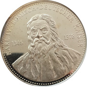 Medallion - Karl IV – obverse