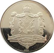 Medallion - Karl IV – reverse