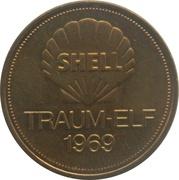 Shell Token - Traum-Elf 1969 (Herbert Wimmer) – reverse