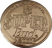 Token - Budweiser NFL Super Bud (Super bowl XVII - Washington Redskins vs Miami Dolphins - 1983) – reverse