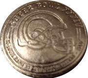 Token - Budweiser NFL Super Bud (Super bowl XXXIV - St-Louis Rams vs Tennessee titan - 2000) – obverse