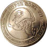 Token - Budweiser NFL Super Bud (Super bowl VII - Miami Dolphins vs Washington Redskins - 1973) – obverse
