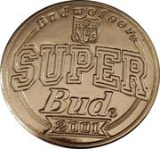 Token - Budweiser NFL Super Bud (Super bowl I - Green Bay Packers vs Kansas City Chiefs - 1967) – reverse