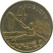 4 Augusty - Augustów – reverse
