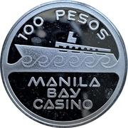 100 Pesos - Manila Bay Casino – obverse