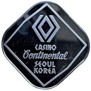 10 000 Won - Casino Continental Seoul Korea – obverse