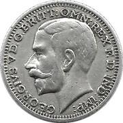 Fetish Sovereign - George V – obverse