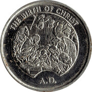 Millennium Medal Collection - The Birth of Christ – obverse