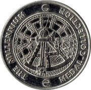 Millennium Medal Collection - The Birth of Christ – reverse