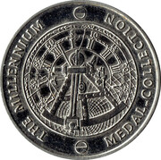 Millennium Medal Collection - DNA – reverse