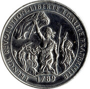 Millennium Medal Collection - French Revolution – obverse