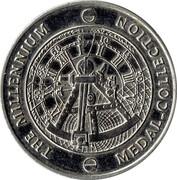 Millennium Medal Collection - Technology – reverse
