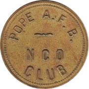 50 Cents - N.C.O. Club (Pope Air Force Base, North Carolina) – obverse