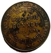 Token - Boucherie Bonnet – reverse