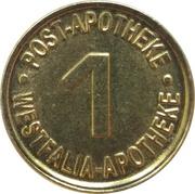 1 Bottrop Taler - Post Apotheke & Westfalia Apotheke (Bottrop) – obverse