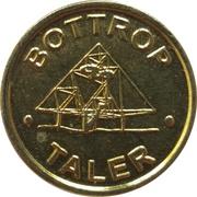 1 Bottrop Taler - Post Apotheke & Westfalia Apotheke (Bottrop) – reverse