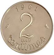 Replica - 2 Centimes (Essai) – reverse