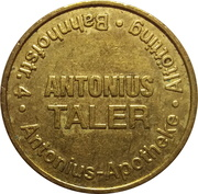 Antonius Taler / Tilly Taler - Antonius & Tilly Apotheke (Altötting) – obverse