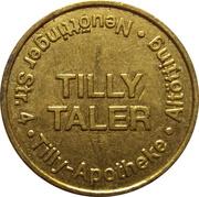 Antonius Taler / Tilly Taler - Antonius & Tilly Apotheke (Altötting) – reverse