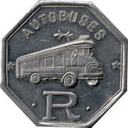 15 Centimos - Autobuses Roca (Barcelona) – obverse